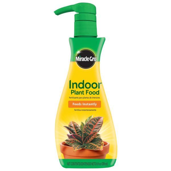 Miracle-gro Liquid 8 Oz. Indoor Plant Food-100055