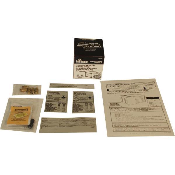 Heater Big Maxx Fuel Conversion Kit In Lp Ng