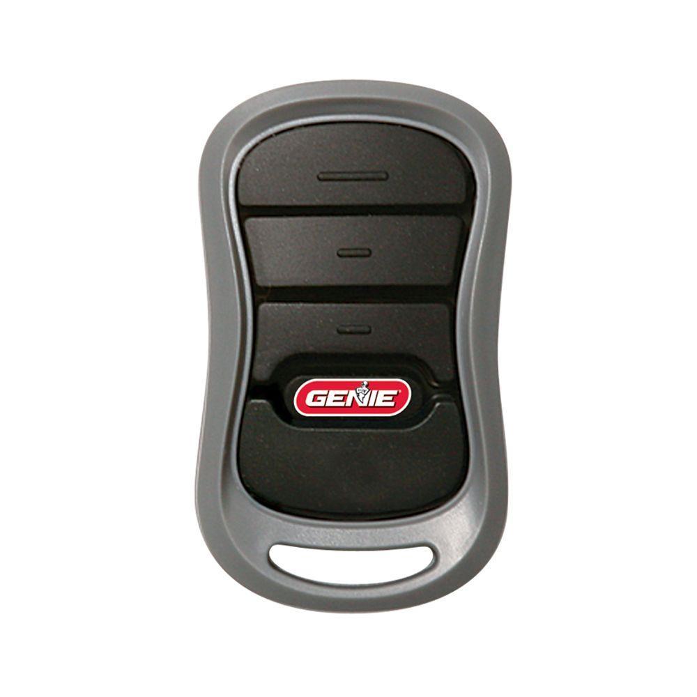 medium resolution of 3 button garage door opener remote with intellicode technology