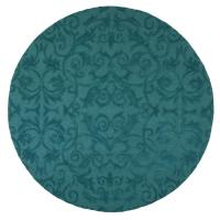 Home Decorators Collection Bella Teal 7 ft. 9 in. Round ...