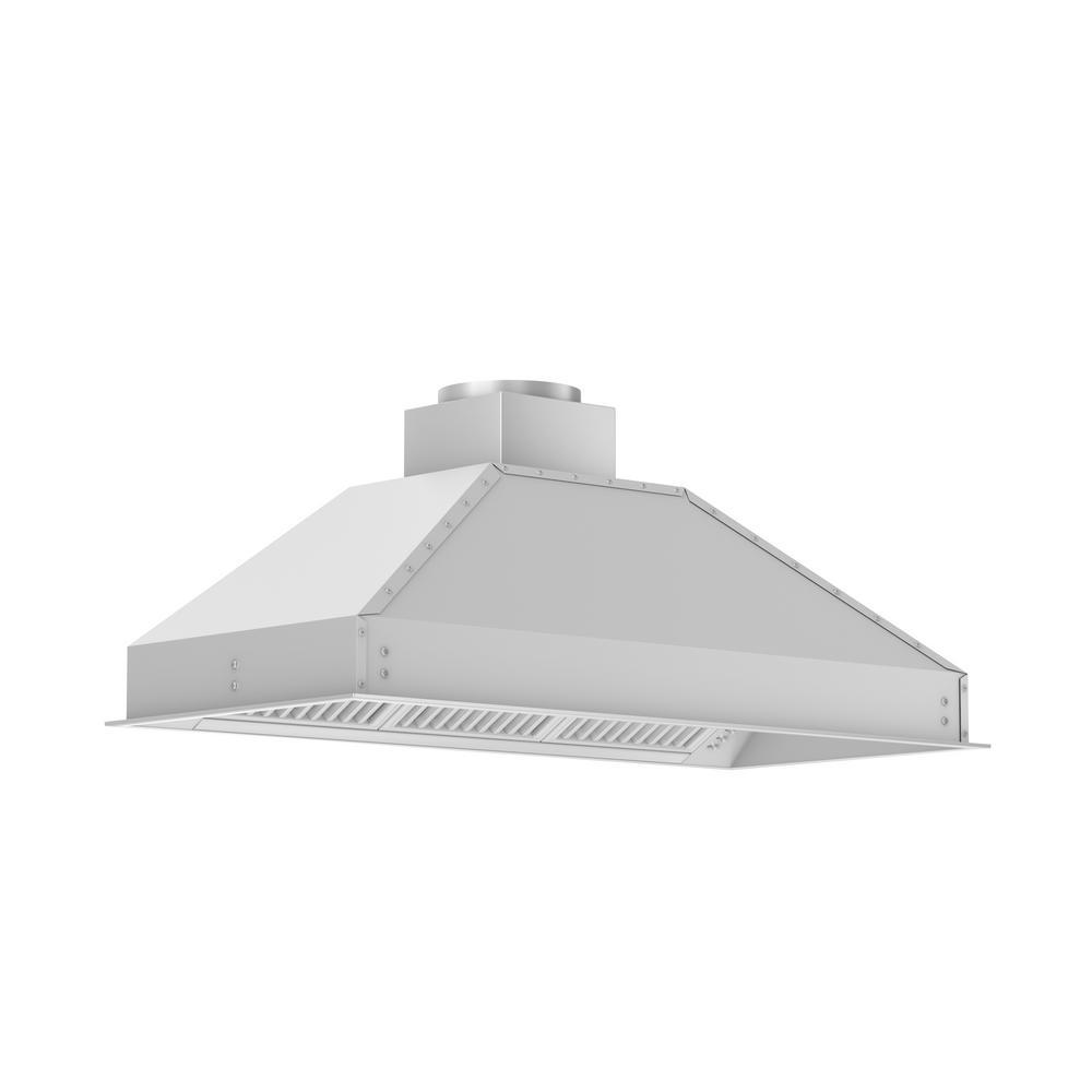 outdoor kitchen hood free design zline and bath 46 in 1200 cfm range insert stainless steel