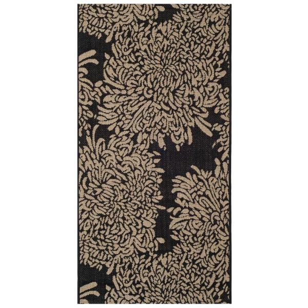 Safavieh Martha Stewart Black Cream 2 Ft. 7 In. X 5 Indoor Outdoor Area Rug-msr4125m-3