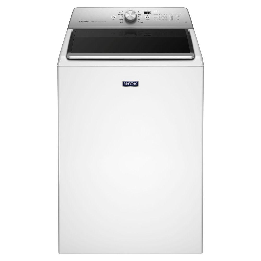 medium resolution of 5 3 cu ft high efficiency white top load washing machine with deep clean option energy star