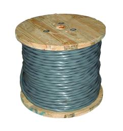6 3 gray stranded cu uf b w g wire 14782702 the home depot [ 1000 x 1000 Pixel ]