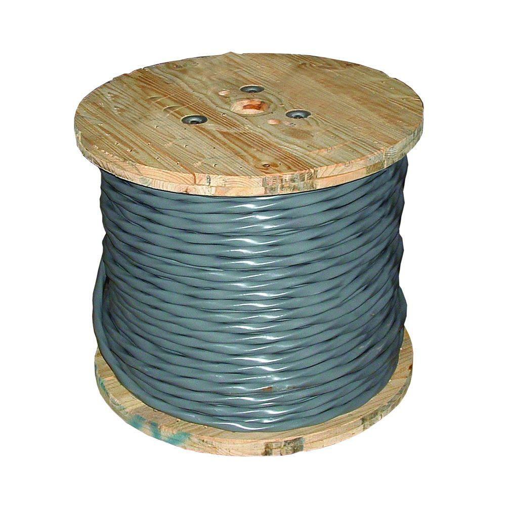 hight resolution of 6 3 gray stranded cu uf b w g wire 14782702 the home depot