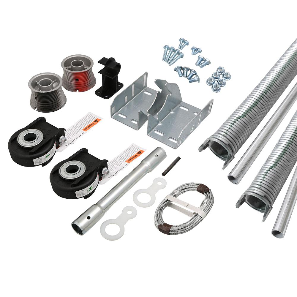 Clopay EZSet Torsion Conversion Kit for 16 ft x 7 ft Garage Doors 219 lbs  243 lbsLWRW