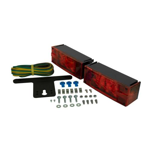 small resolution of trailer lamp kit 7 7 8 in led low profile submersible rectangular lights