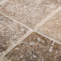 Jeffrey Court Travertino Noce 4 in. x 4 in. Tumbled ...