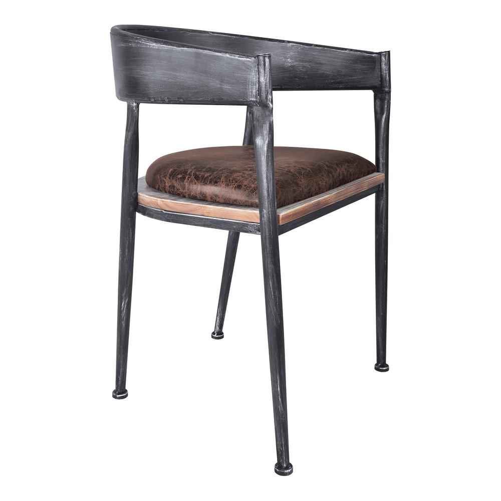 industrial dining chair g plan chairs armen living macey grey set of 2