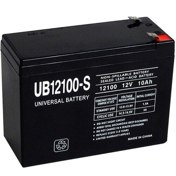 Upg Sla 12-volt F2 Terminal Battery-ub12100- - Home Depot