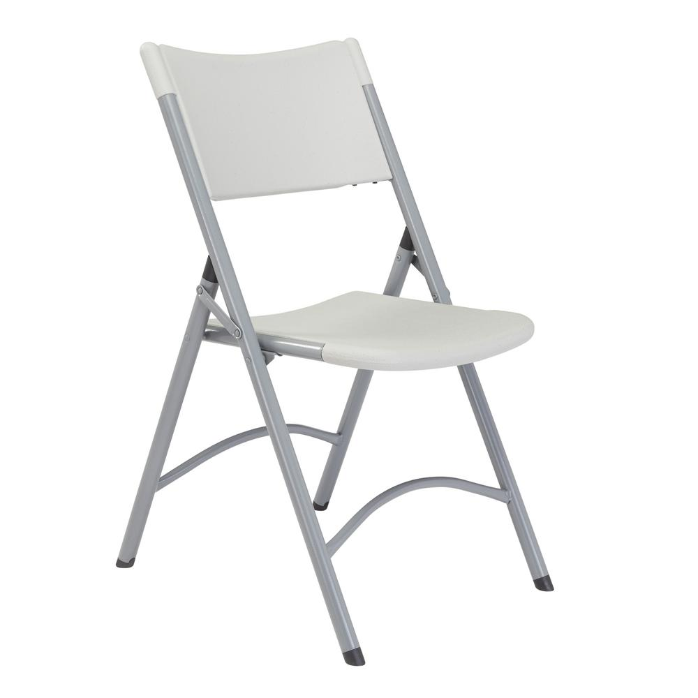 public seating chairs eames for sale national nps 600 series grey plastic folding chair pack of 4