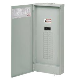 br 225 amp 42 space 42 circuit outdoor main breaker loadcenter with cover [ 1000 x 1000 Pixel ]