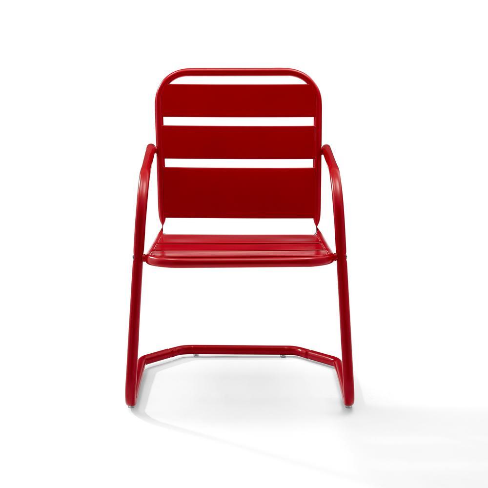 2 crosley brighton metal patio chair