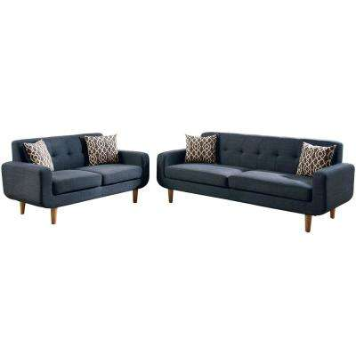 blue living room sets buy chairs furniture the home depot trentino