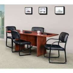 Tufted Desk Chair Realspace Magellan Corner Office Chairs Home Furniture The Crusoe Black Side