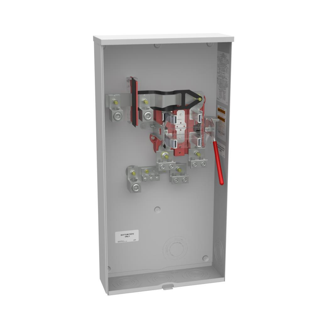7 jaw meter socket wiring diagram clarion milbank 320 amp 4 terminal ringless side wireway underground