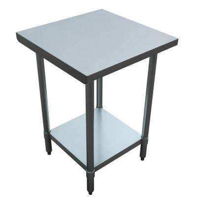 metal kitchen tables how much does it cost to replace cabinets utility table carts islands dining stainless steel