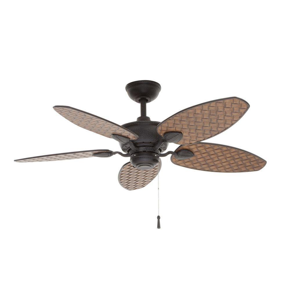 medium resolution of hampton bay largo 48 in indoor outdoor gilded iron ceiling fan