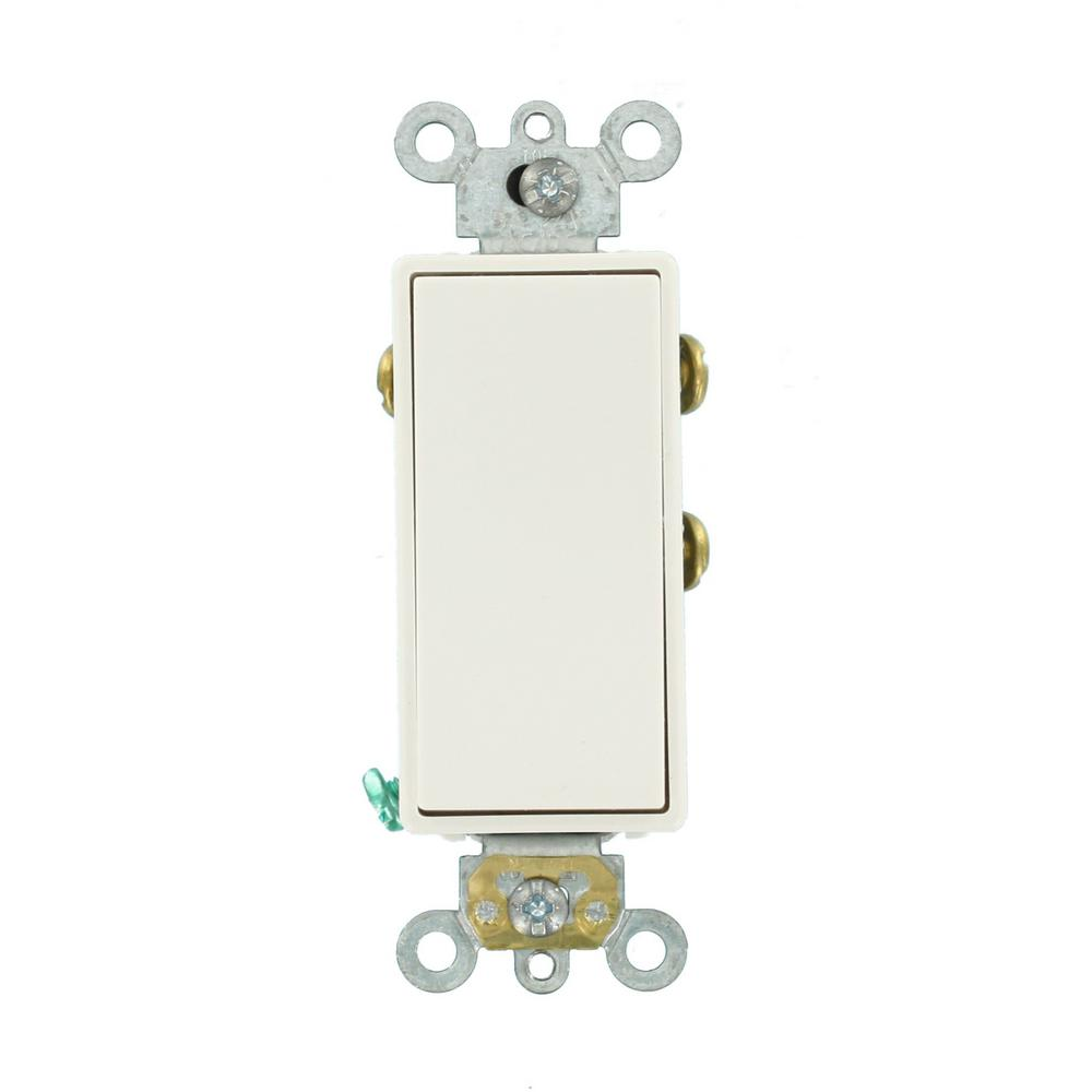 medium resolution of leviton 3 amp decora plus commercial grade single pole double throw center off rocker switch
