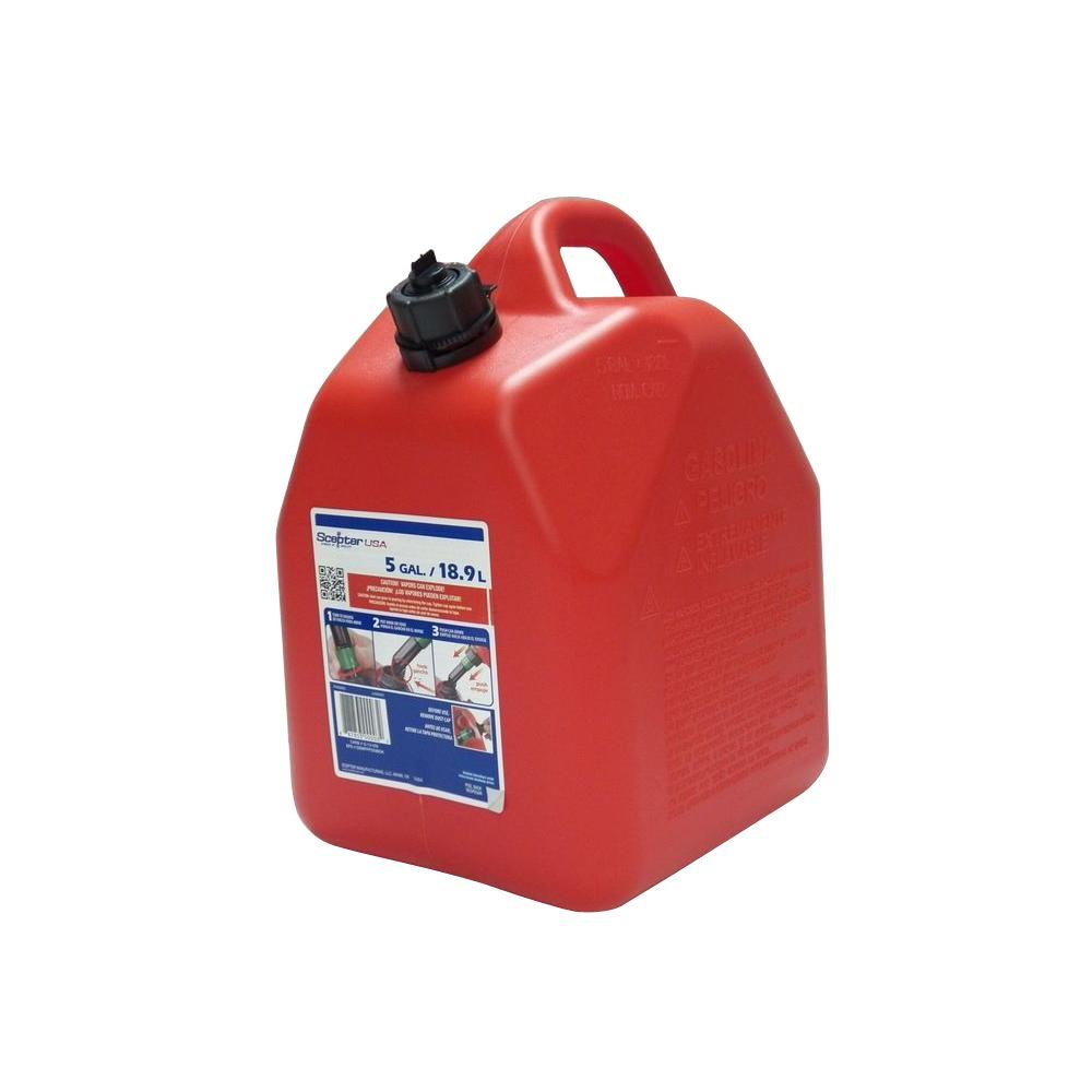Scepter AmeriCan 5 Gal Gas Can EPA and CARB00003  The Home Depot