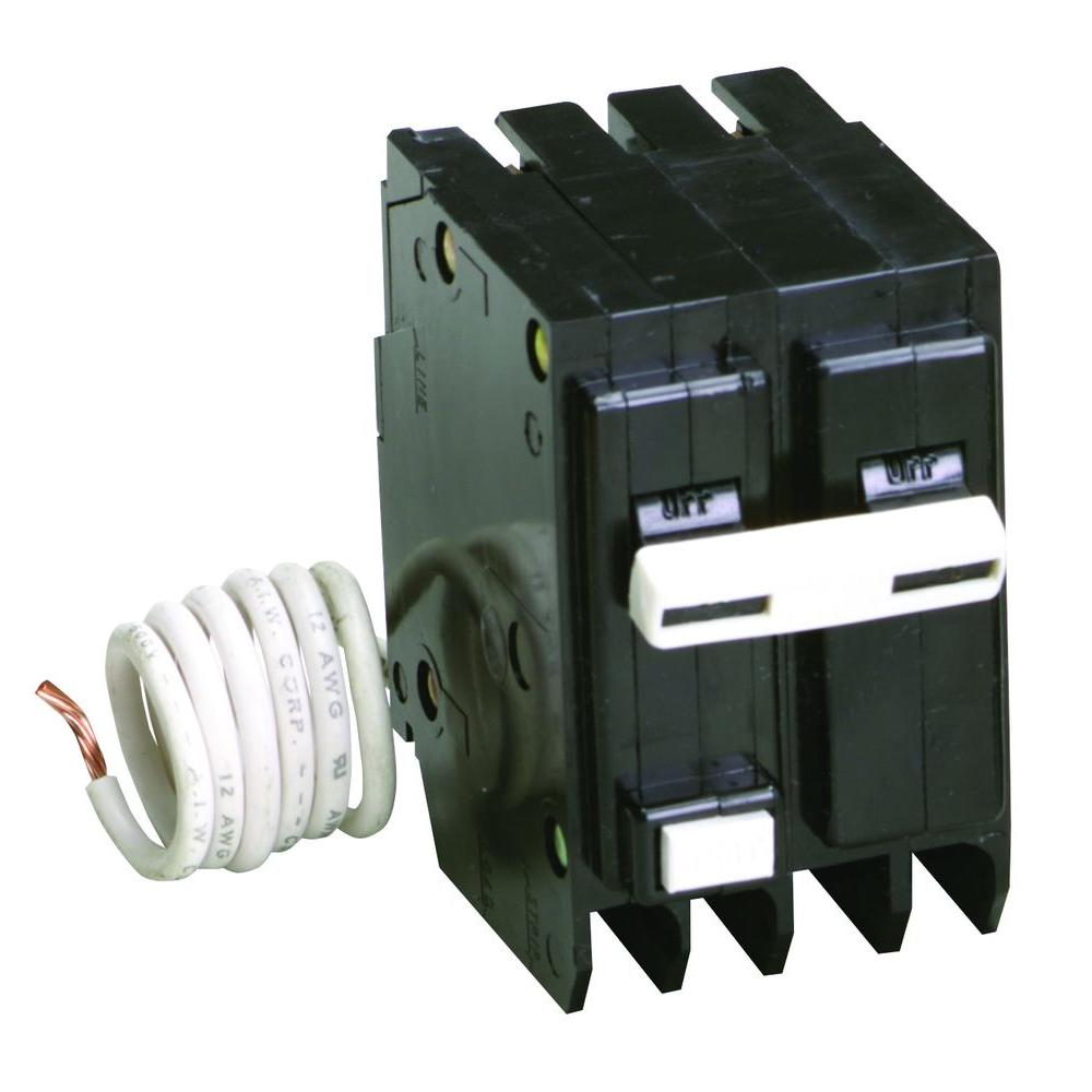 hight resolution of br 30 amp 2 pole self test ground fault circuit breaker