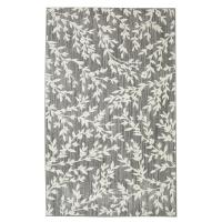 Floral Branches Gray 8 ft. x 10 ft. Area Rug-508753 - The ...