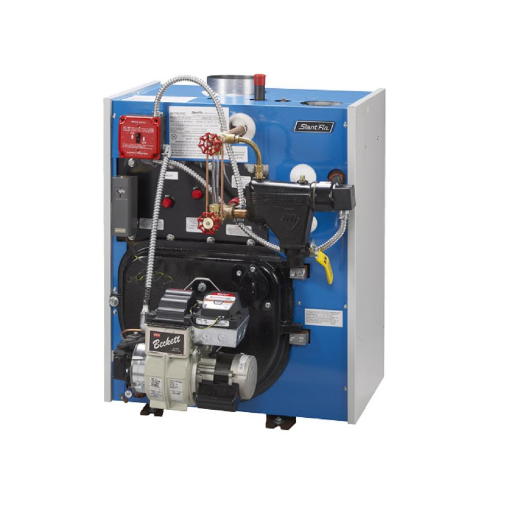 hight resolution of intrepid hot water oil fired steam tankless boiler with 98 000 btu output