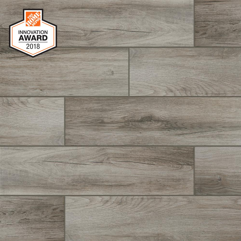 gray wood tile floor living room designs indian apartments lifeproof shadow 6 in x 24 porcelain and wall