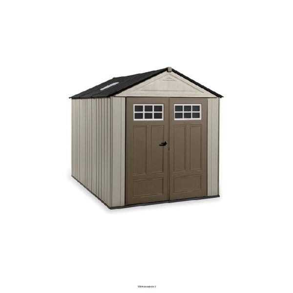 Rubbermaid Big Max Ultra 10.5 Ft. X 7 Storage Shed-2035891 - Home Depot
