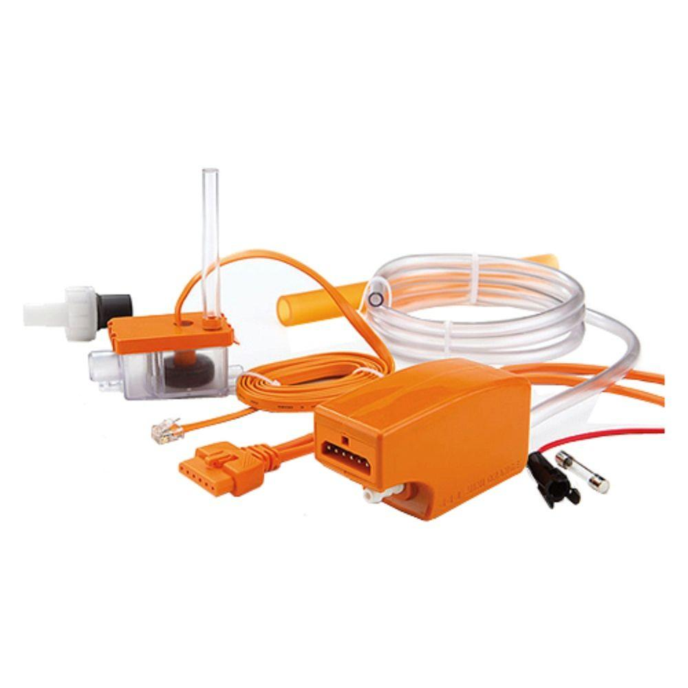 hight resolution of rectorseal aspen maxi orange 115 208 230 volt condensate pump for ductless mini split indoor units up to 5 tons rec83919 the home depot