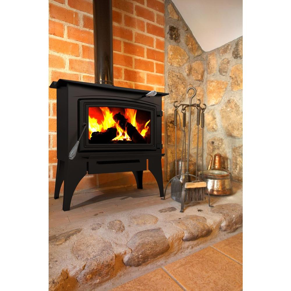 Pleasant Hearth 1800 sq ft EPA Certified WoodBurning StoveWS2720  The Home Depot