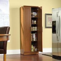 SAUDER Home Plus Sienna Oak Storage Cabinet-411963 - The ...