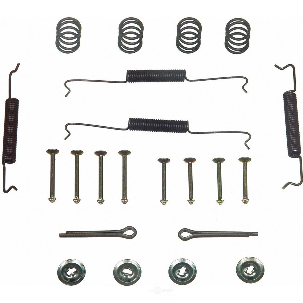 hight resolution of wagner brake rear drum brake hardware kit fits 1965 1967 volkswagen beetle beetle karmann