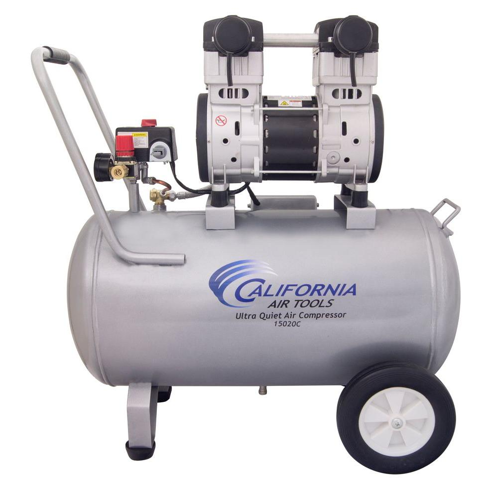 hight resolution of california air tools 15 gal 2 0 hp ultra quiet and oil free air compressor