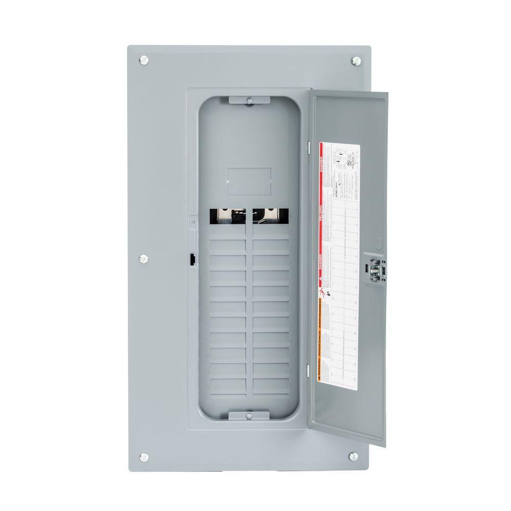 medium resolution of homeline 125 amp 20 space 40 circuit indoor main lug plug on neutral