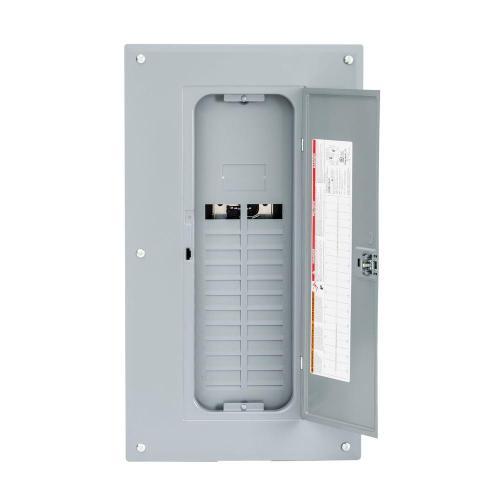 small resolution of homeline 125 amp 20 space 40 circuit indoor main lug plug on neutral
