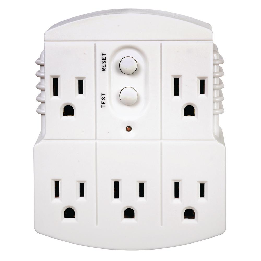 hight resolution of tower manufacturing corporation gfci 5 outlet adapter