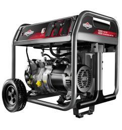 briggs stratton 5 000 watt gasoline powered portable generator [ 1000 x 1000 Pixel ]