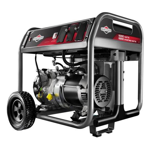 small resolution of briggs stratton 5 000 watt gasoline powered portable generator