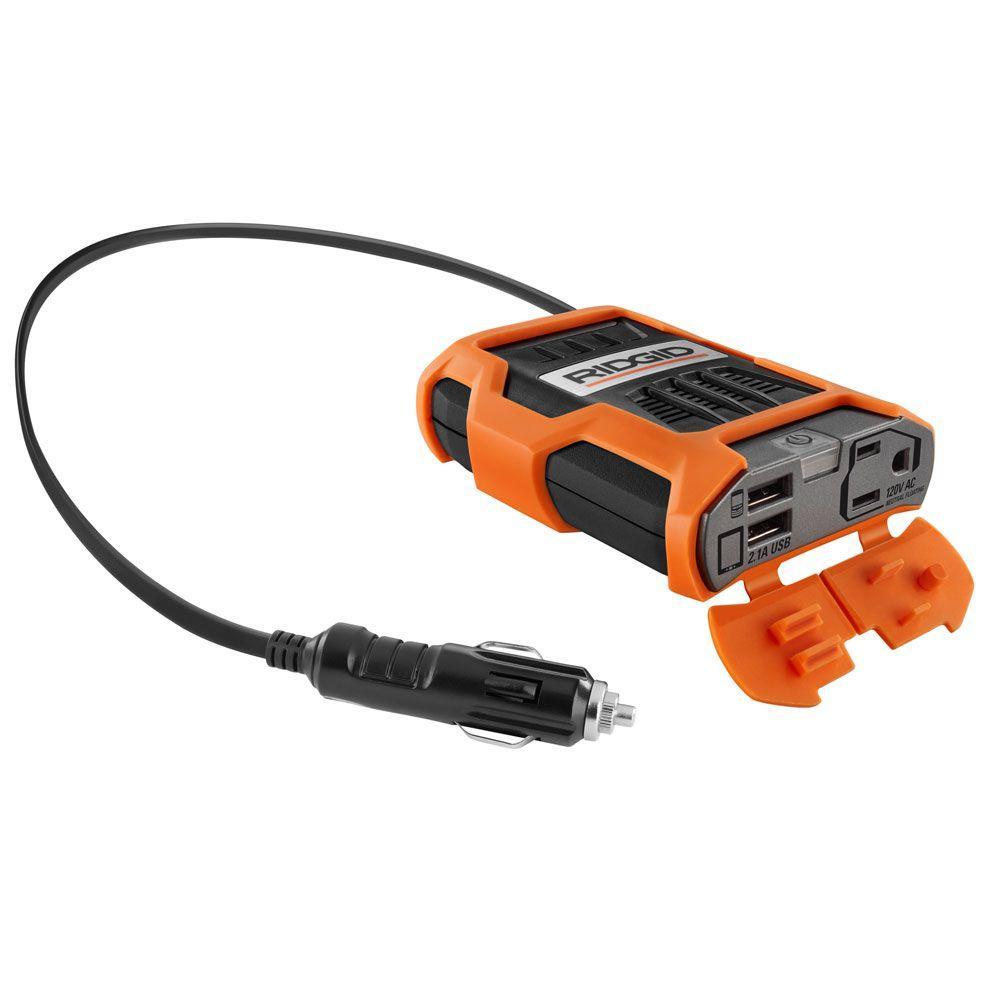 hight resolution of ridgid 100 watt power inverter