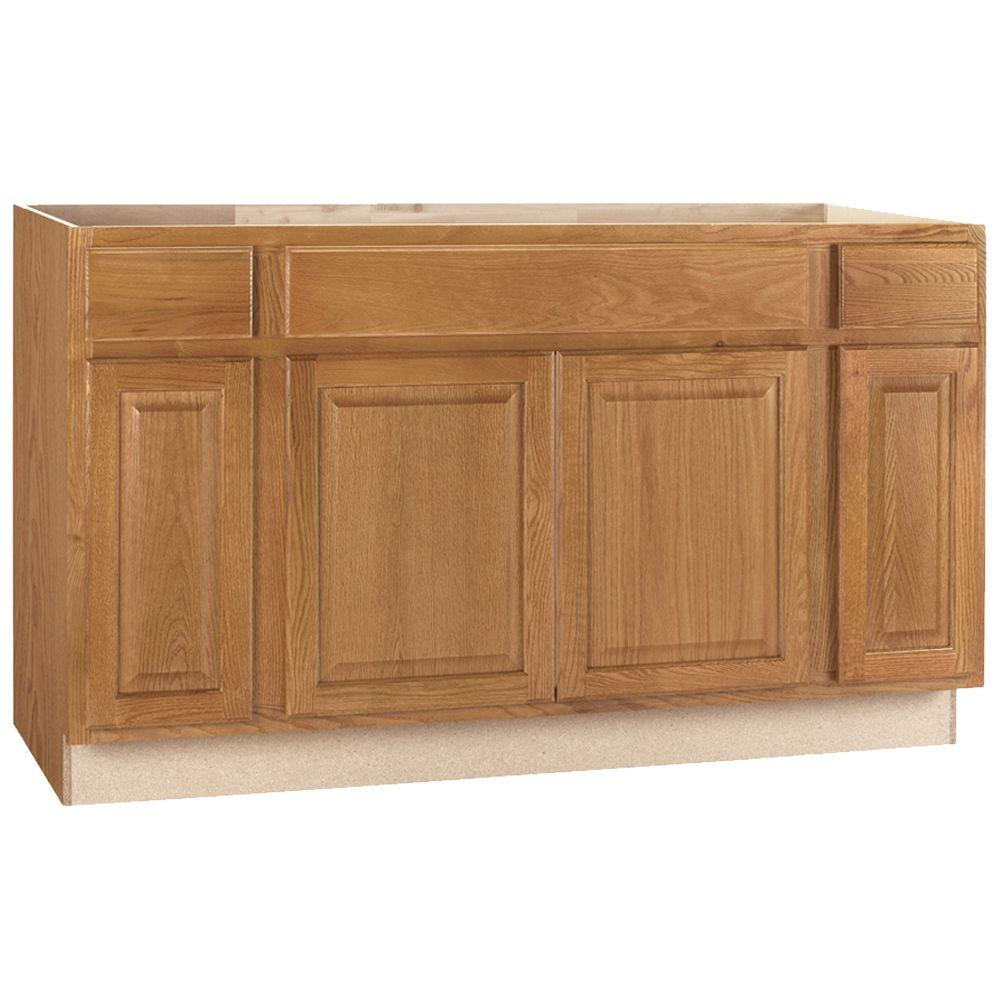 Assembled 15x345x24 in Base Kitchen Cabinet in