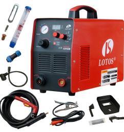 lotos supreme cut60d 60 amp digital cnc pilot arc plasma cutting machine with plasma gouging  [ 1000 x 1000 Pixel ]