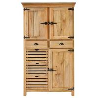 Baxton Studio Harding Wood Shoe-Storage Cabinet in Dark ...