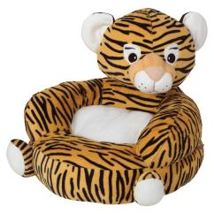 Stuffed Animal Chair Cover Rentals Bay Area Trend Lab Orange Black Children S Plush Tiger Character