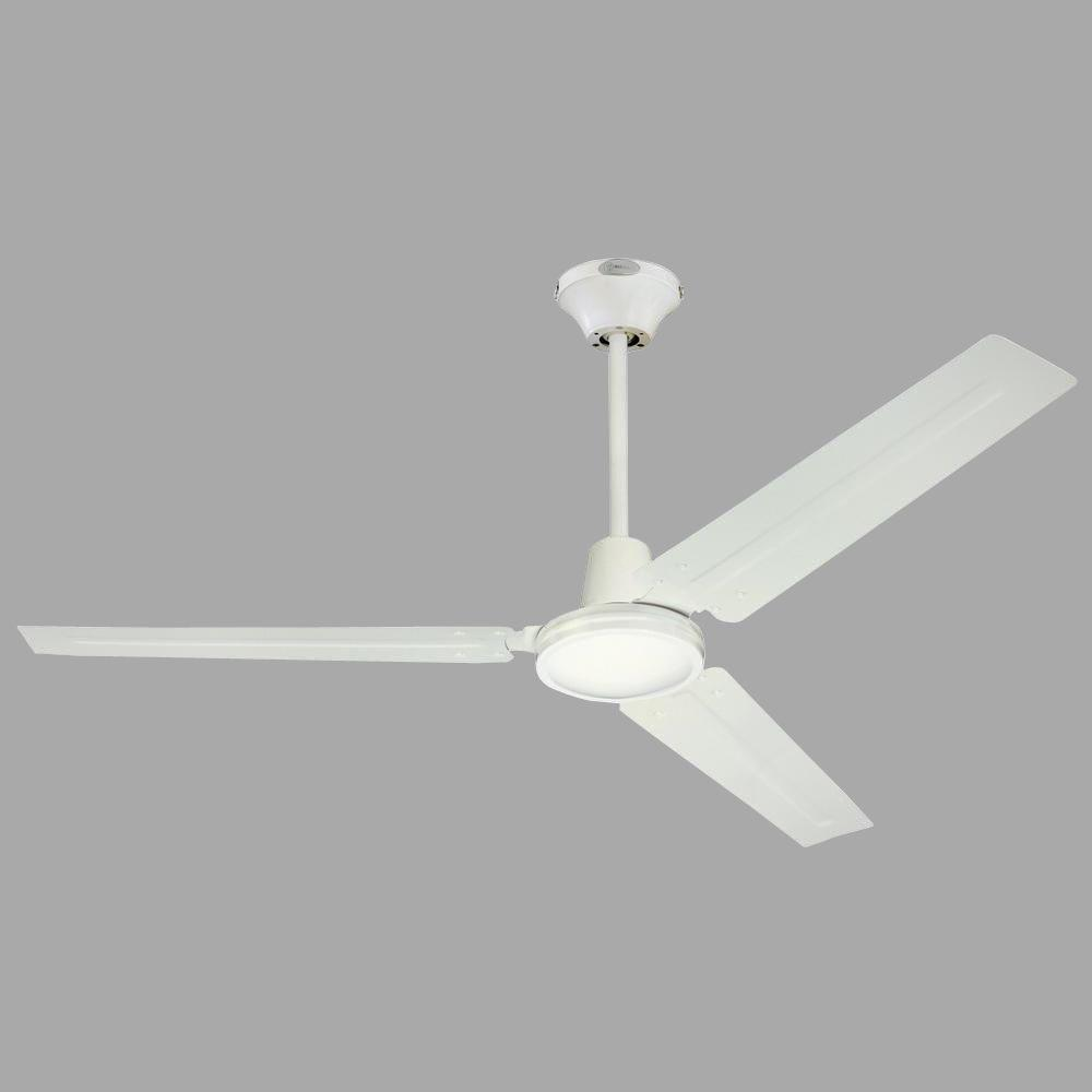 Westinghouse Industrial 56 in. White Ceiling Fan