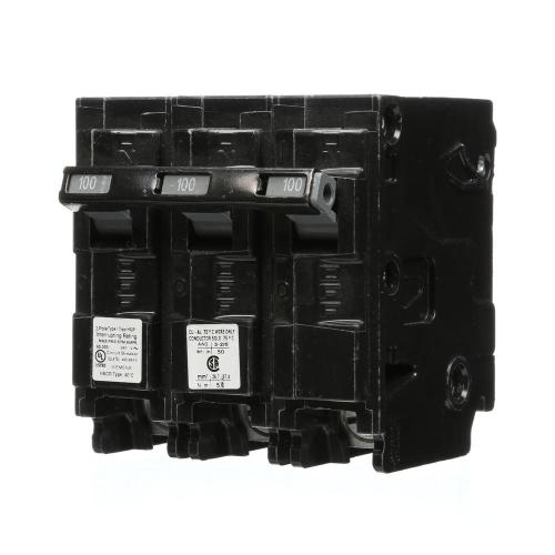 small resolution of siemens 100 amp 3 pole type hqp 65ka circuit breaker