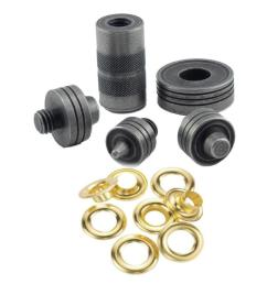 brass grommet fastening kit with case includes 6 1 2 in  [ 1000 x 1000 Pixel ]