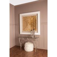 """Titan Lighting 55 in. x 55 in. """"Gold Feather Spaturral ..."""