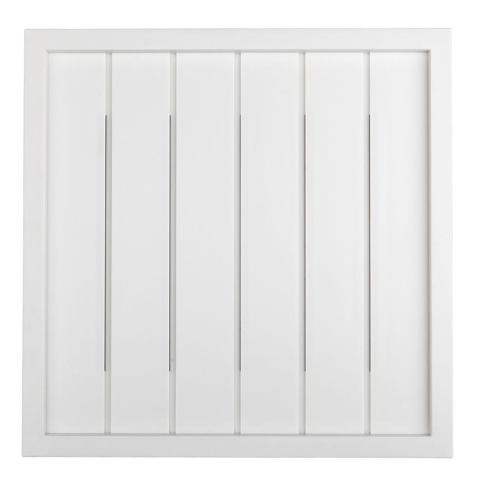 hight resolution of hampton bay wireless or wired door bell white bead board hb 7621 02 the home depot