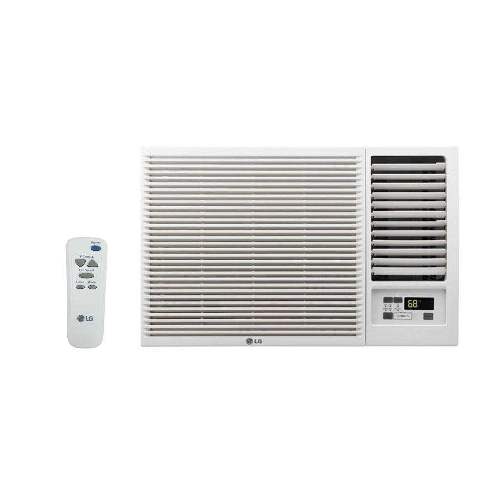 medium resolution of 18 000 btu 230 208 volt window air conditioner with cool heat and remote